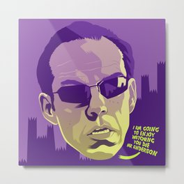 AGENT SMITH Metal Print