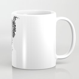 Butterflies in the Flowers Coffee Mug