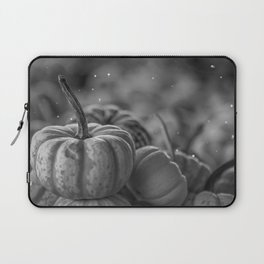 Pumpkin Paradise (Black and White) Laptop Sleeve
