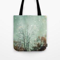 First Snowfall  Tote Bag