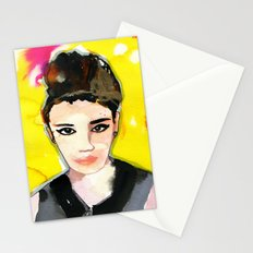 Smokey eyes Stationery Cards