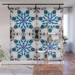 Enchanted Frozen Snowflakes Wall Mural