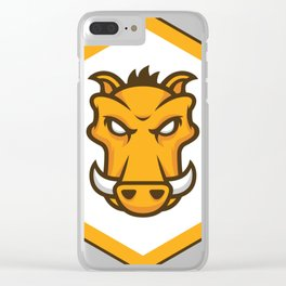 grunt js Task runner Developer grunt Stickers Clear iPhone Case