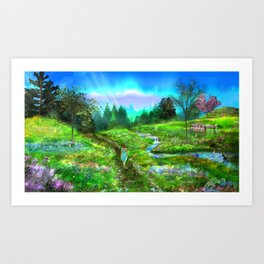 Meadow of Life Art Print