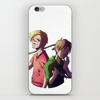 cryaotic iPhone & iPod Skins featuring Pewdiecry by Kiwa