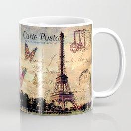 Vintage Paris-Carte Postale Coffee Mug
