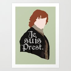Jamie Fraser Quote Art Print