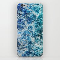 mineral iPhone & iPod Skins featuring MINERAL MAGIC by Catspaws
