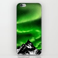 aurora iPhone & iPod Skins featuring aurora by barmalisiRTB