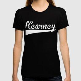 KEARNEY Baseball Vintage Retro Font T-shirt