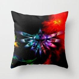 Zelda Space Throw Pillow