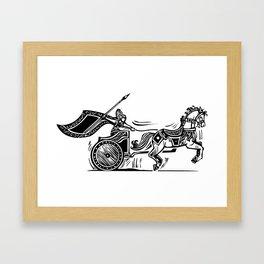 Valkyrie Chariot Framed Art Print