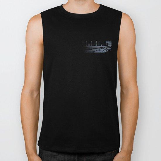 Rock Climbing - Male Biker Tank