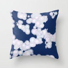 Cloudy Night Throw Pillow