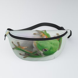Green Tree Frog Fanny Pack