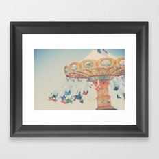 carnival swing I ... Framed Art Print