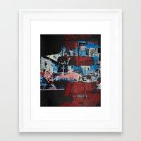 gotham Framed Art Prints featuring Gotham by shaymultimedia