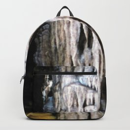 Watercolor Rock, Lechuguilla Cave 15, New Mexico, The Melted Candle Backpack