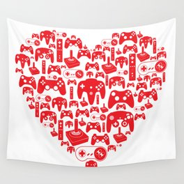 Gaming Love Wall Tapestry
