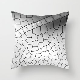 Wing of a dragonfly  Throw Pillow