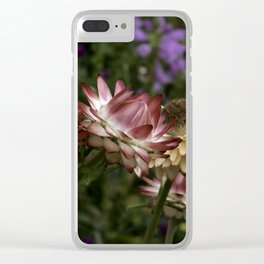 Color Therapy with Nature Clear iPhone Case