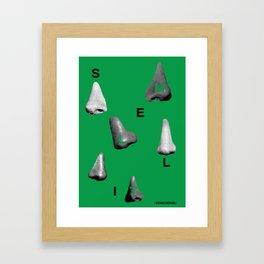 Smell It Framed Art Print