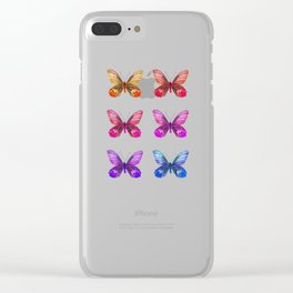 Experiment 4: transcendence Clear iPhone Case