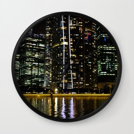A Ripple of Water Wall Clock