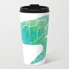 Sea Turtle II Metal Travel Mug