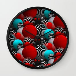 3D abstraction -27- Wall Clock