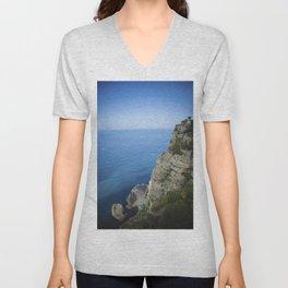 Amalfi coast 3 Unisex V-Neck
