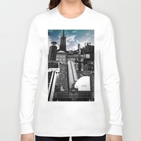 stockholm Long Sleeve T-shirts featuring Urban Stockholm by Nicklas Gustafsson