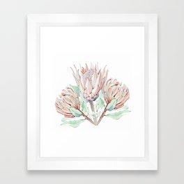 Protea #society6 #buyart Framed Art Print