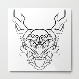 ONI RYU Metal Print