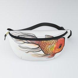 Goldfish Watercolor Print Fanny Pack