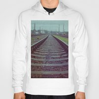 russia Hoodies featuring Railroad. Russia. by Slava Joukoff