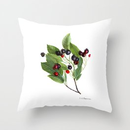 Canadian Serviceberry Throw Pillow