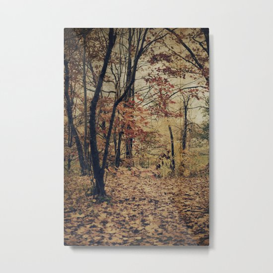Vintage Autumn Metal Print