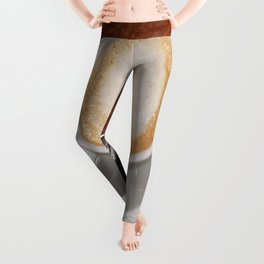 Rise and Shine Cafe con Leche Coffee! Leggings