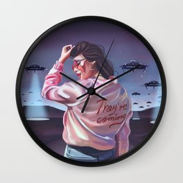 They're coming Wall Clock