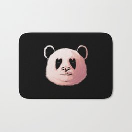 Panda in Love Bath Mat
