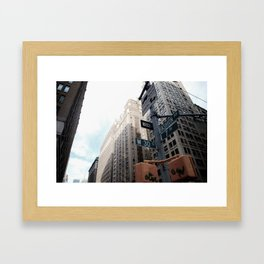 Fashion Ave. Framed Art Print