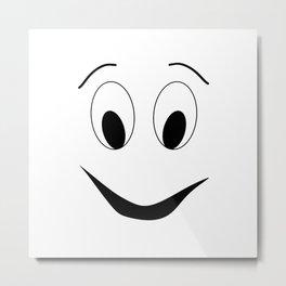 Funny face Metal Print