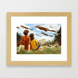 Migration Day Framed Art Print