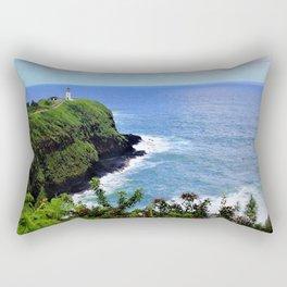 Kilauea Point Lighthouse Kauai by Reay of Light Rectangular Pillow