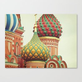 Russian Onion Domes Canvas Print