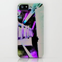 ladder going up or down iPhone Case