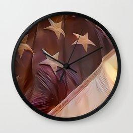 America II Wall Clock