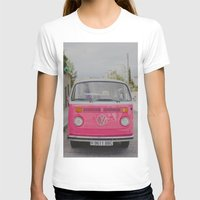 hot pink T-shirts featuring Hot Pink Lady by Hello Twiggs