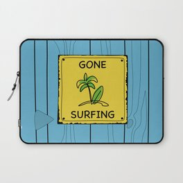 Gone Surfing Laptop Sleeve